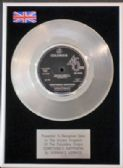 "HERMAN'S HERMITS -7""Platinum Disc-SOMETHING'S HAPPENING"